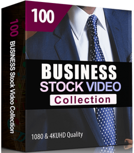 100 Business Stock Video Collection