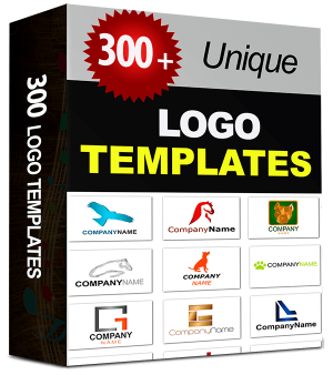 300-Logo-Templates Cheap Bundle with Resell Rights