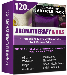 Aromatherapy & Essential Oils-Article Pack Cover