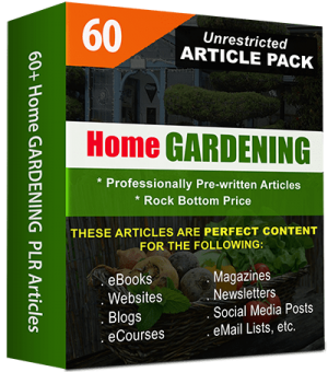Home Gardening-Article Pack Cover