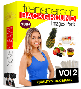 100 Royalty-Free with PLR & Resell Rights Stock Images with Transparent Background (Volume 2)