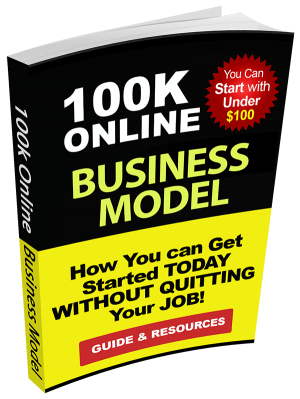 100K (Six Figure) Online Business-Model-eBook-Cover