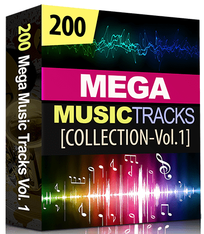 200 Mega Music Tracks-Collection-Vol.1