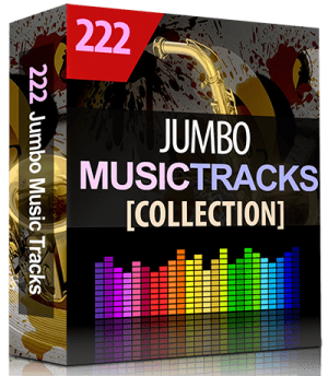 222 Jumbo Audio Music Studio Tracks Collection
