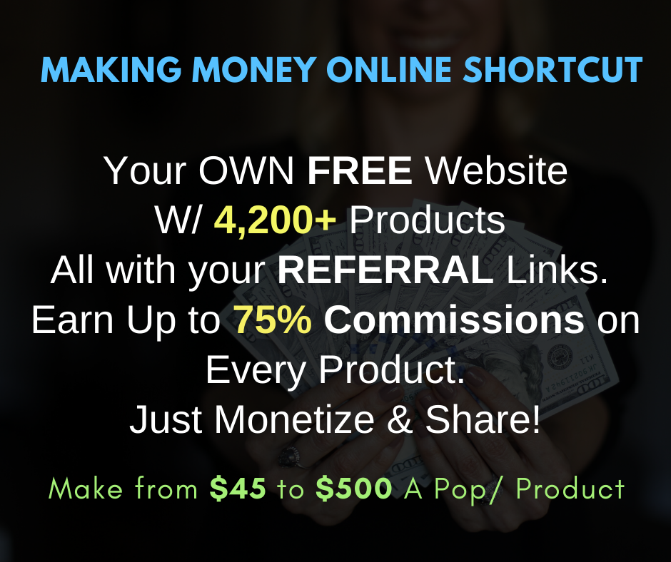 A Shortcut to Making Money Online