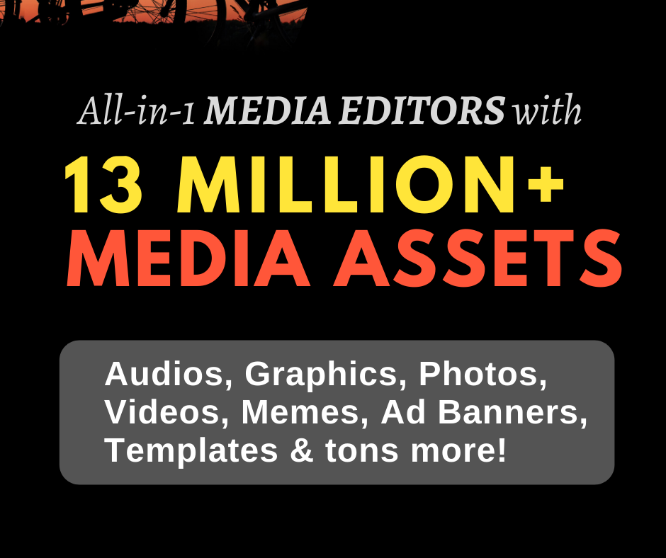 Massive 13 Million Creative Assets