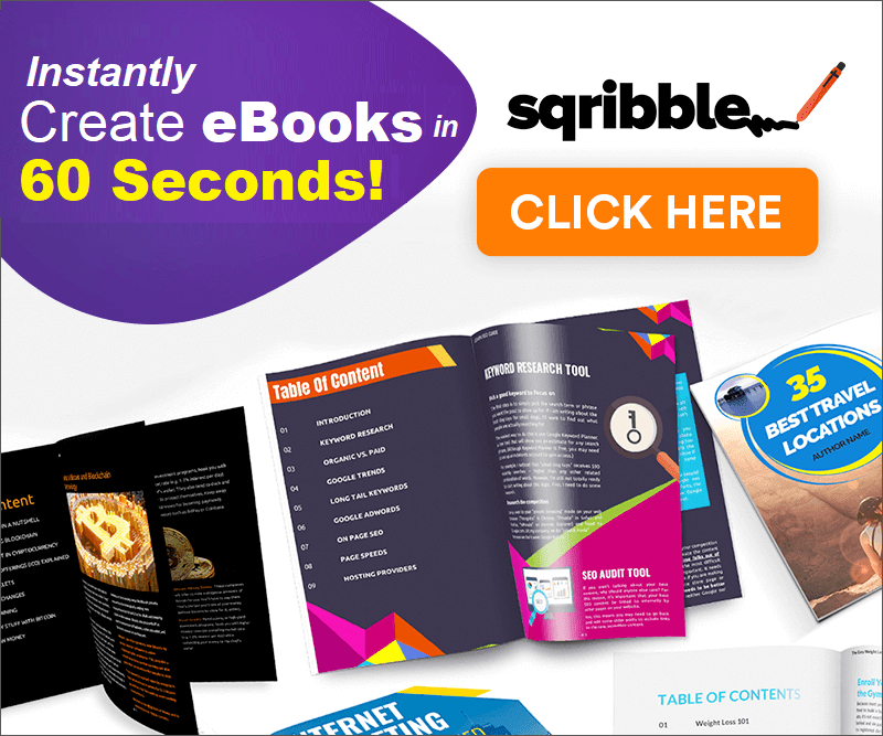 Instantly Create eBooks in 60 Seconds