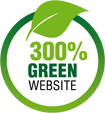 300% Green Hosting Website
