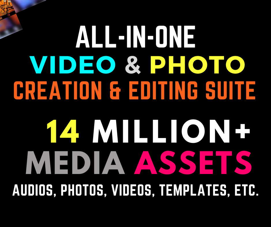 Best Editing Software + Media Assets