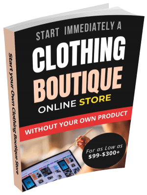 How to Start a Profitable in 2021 Online Clothing Boutique without your Own Product By Dropshipping